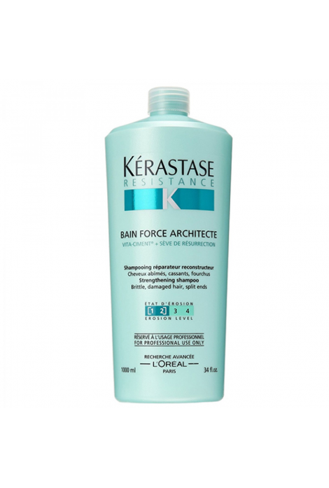 Resistance Bain Force Architecte Shampoo (1000ml)