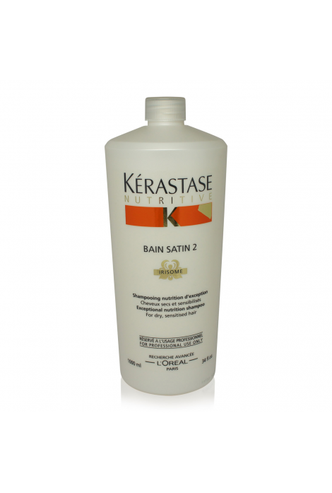 Nutritive Bain Satin 2 Shampoo (1000ml)